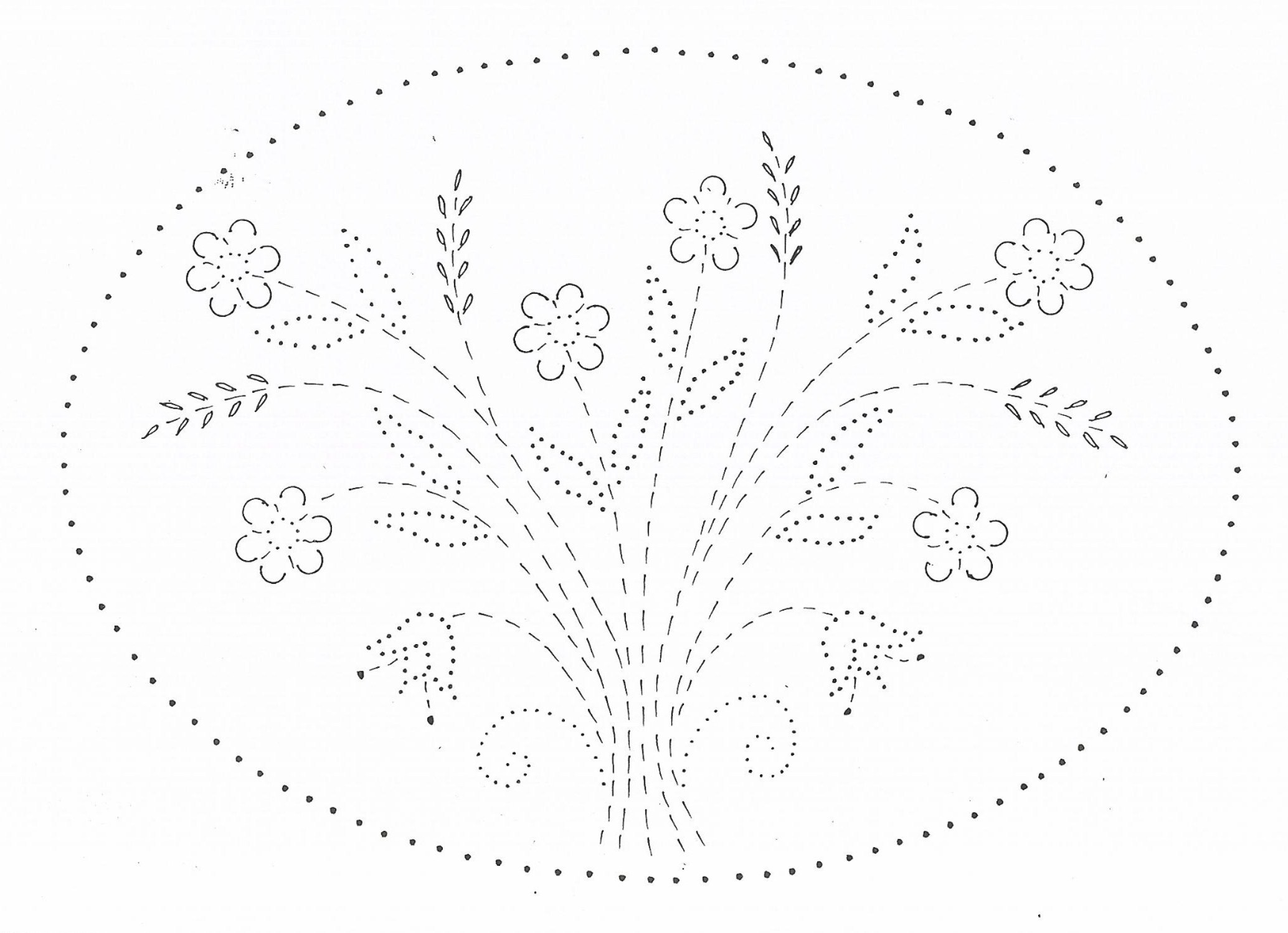 tin punch patterns    p 1108 wheat flowers 10x10 and 14x10